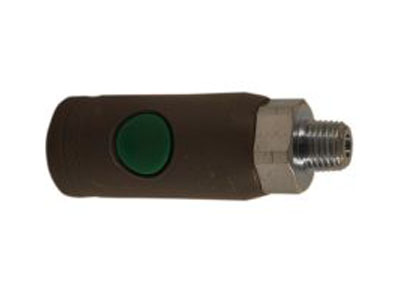 1/4 MNPT T Style Safety Coupler