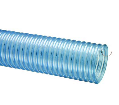 2001™ Series Heavy Duty Food Grade Polyurethane Lined Material Handling Hose With Grounding Wire