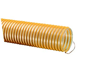Urevac™ UVE™ Polyurethane Ducting/Material Handling Hose With Grounding Wire