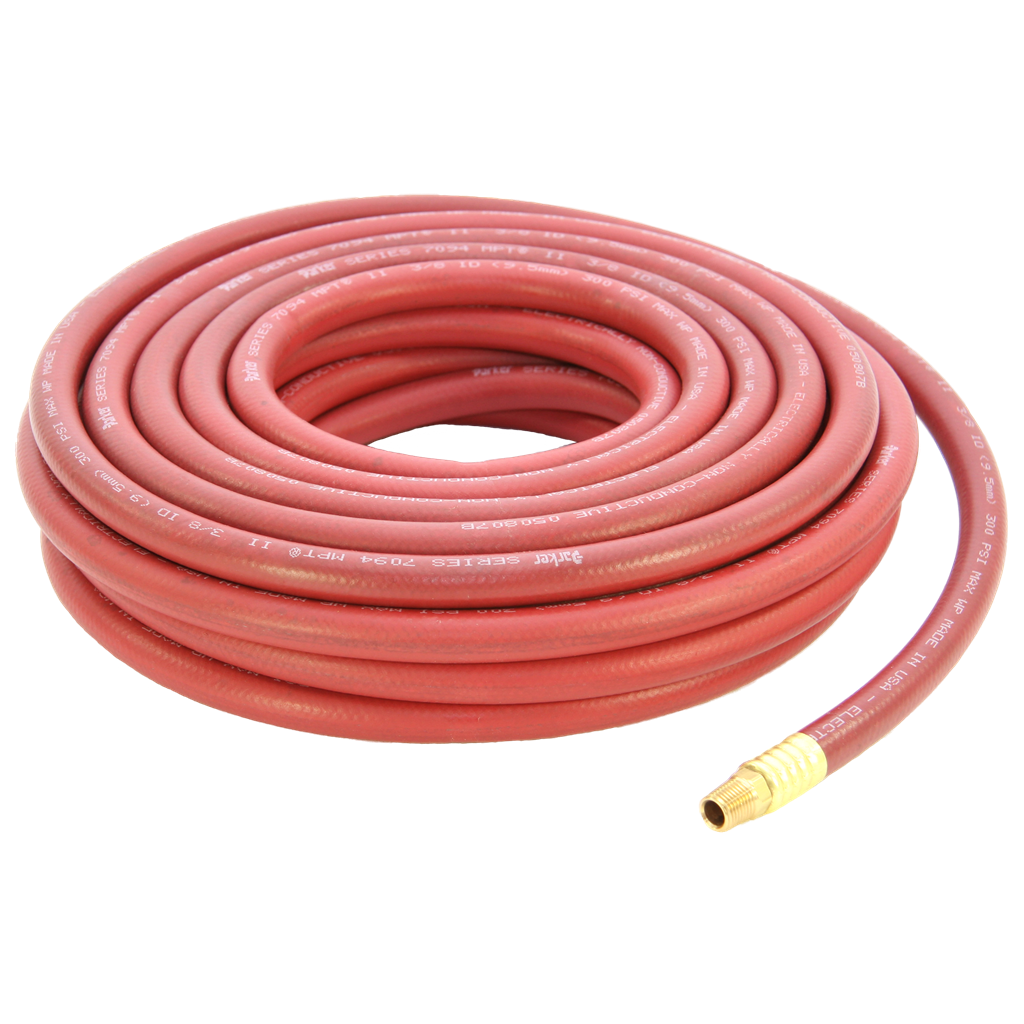 3/8 ID X 25 FT RED 300# G/P AIR HOSE  sc 1 st  Abbott Rubber & ABBOTT RUBBER COMPANY INC. 3/8 ID X 25 FT RED 300# G/P AIR HOSE ...