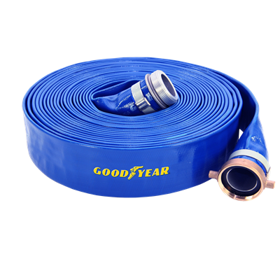 2-1/2 ID X 100 FT  BLUE PVC DISCHARGE