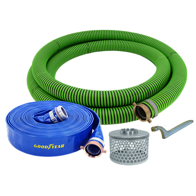 2 ID ALL-WEATHER SUCTION HOSE BOXED KIT