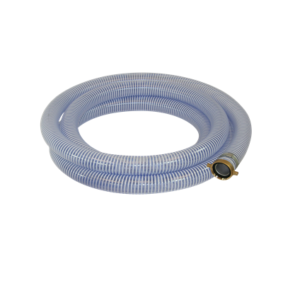1-1/4 ID X 25 FT CLEAR PVC SUCTION HOSE