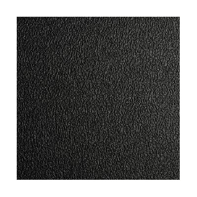 48 WIDE BLACK TEXTURE-TOP RUBBER